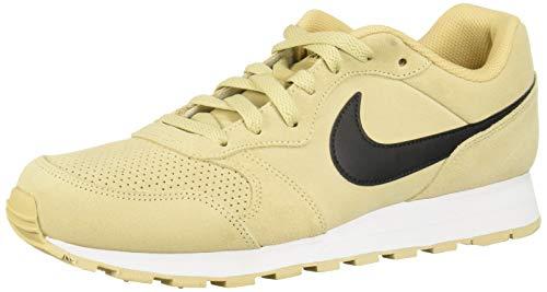 Nike MD Runner 2 Suede, Zapatillas de Trail Running para Hombre, Rosa Team Gold/Black 700, 42.5 EU