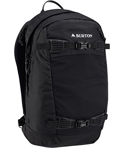 Burton day hiker 28l, zaino sportivo unisex – adulto, true black ripstop, 28 l