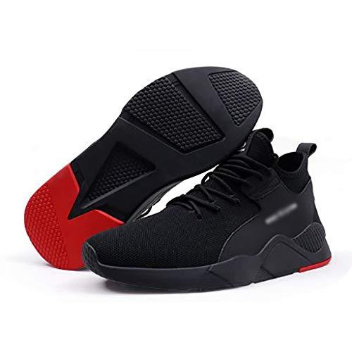 Ingenieurstiefel Herren rutschfeste Turnschuhe niedrige Taille flache Schuhe super leichte atmungsaktive rutschfeste Sport Laufschuhe lässig Mesh Sportschuhe Sportbekleidung für Männer ( größe : 37 )