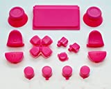 Pink Full Button + 2Federn Ersatz Mod Kit für Playstation 4PS4Controller