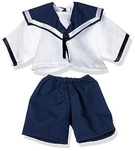 Puppenmode Sturm Turm 8991-T30 - Blusa y pantalón para muñecas, Color Blanco