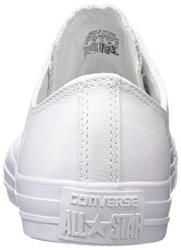 Converse Unisex-Erwachsene Ct Mono Ox Turnschuhe Weiß (White)