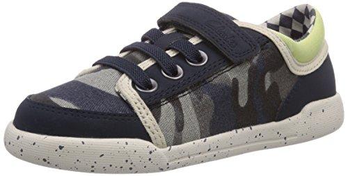 Clarks Kintor Go Inf Jungen Sneakers Blau (Navy/Multi)