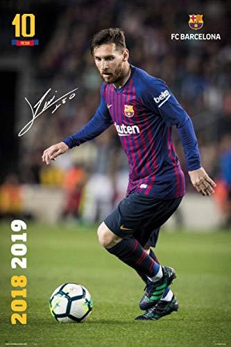 Póster Lionel Messi - FC Barcelona [Temporada 2018/2019]