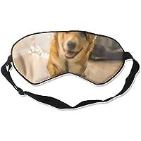 Cute Corgi Dog 99% Eyeshade Blinders Sleeping Eye Patch Eye Mask Blindfold For Travel Insomnia Meditation preisvergleich bei billige-tabletten.eu