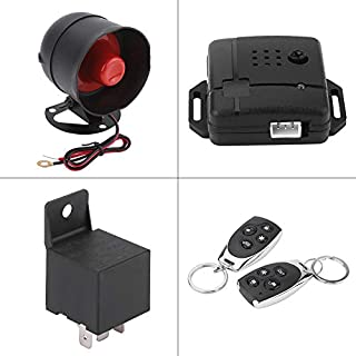 BigBig Style Auto Universal Alarm Security Protection System Keyless Entry und 2 Fernbedienungen Sirene