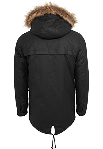 TB896 Coated Nylon Parka Winter Jacke Herren Kapuze - 5