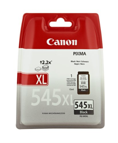 Canon PG-545XL Cartuccia d'Inchiostro, 15 ml, Nero