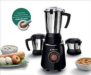 Bosch Appliances TrueMixx Bold 600-Watt Mixer Grinder with 3 Jars (Black)