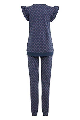 next Pyjama en jersey à volants Standard Femme Bleu