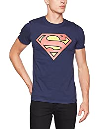 DC Comics Men's DC Originals Official Superman Shield T-Shirt
