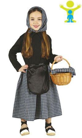 Imagen de disfraz de castañera infantil 3 4 años