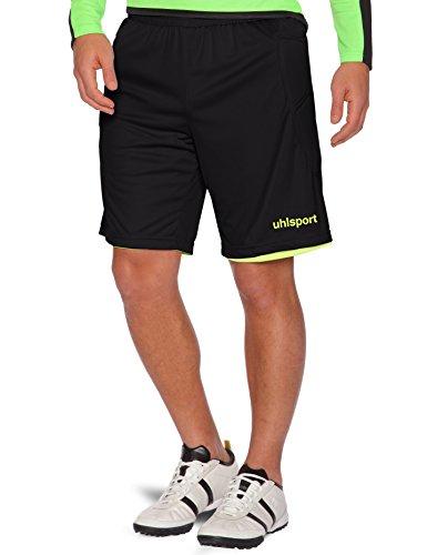 uhlsport Shorts Wende Tw schwarz/fluo gelb