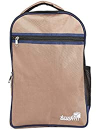 d6e9be8626 Bucksa 13 Lt Blue and Golden Casual Travel Backpack with Laptop Compartment  for Men