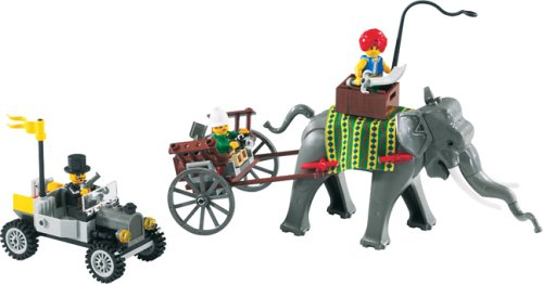 LEGO-Orient-Expedition-7414-Elephant-Caravan