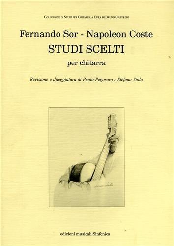Studi Scelti Revisione E Diteggiatura Di Pegoraro E Viola Chitarra