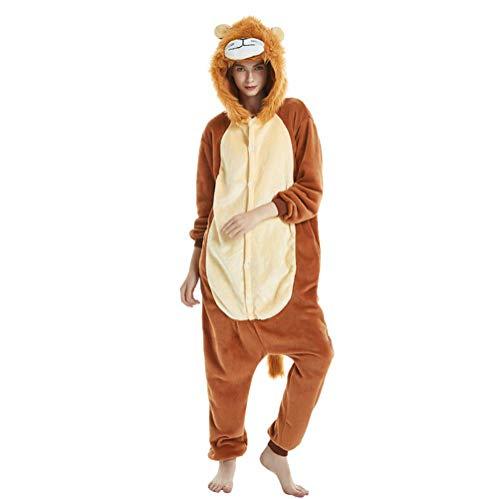 a12f33b432 Sweetheart -LMM donna uomo tuta Halloween Unicorn Onesie costume pigiama di  flanella, super morbido