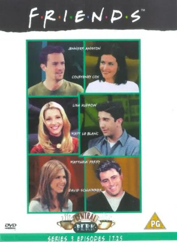 Click for larger image of Friends - Series 3 - Episodes 17-25 [DVD] [1995]