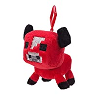 Minecraft 16671Mini Plush With Clip-Baby Cow-Wave 1
