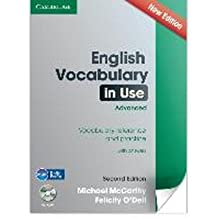 ({ENGLISH VOCABULARY IN USE ADVANCED WITH CD-ROM: VOCABULARY REFERENCE AND PRACTICE}) [{ By (author) Michael J. McCarthy, By (author) Felicity O'Dell }] on [January, 2014]