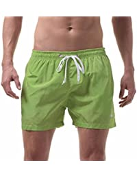 49719cbcc8f6 SOMESUN Herren Badeshort Herren Jungen Slim Fit Badeshorts Badeshose Doubs  Badehose Männer Bademode Men s Shorts Swim