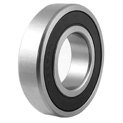 sourcingmap® 35mm x 72mm x 17mm 6207RS einreihig Gummidichtungen Metric Roller Ball Bearing