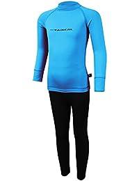 ROUGH RADICAL Kinder Thermounterwäsche Sport Skiunterwäsche Set Shirt Hose Funktionsunterwäsche Double