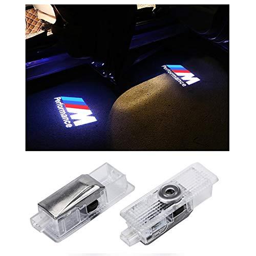 Ghost Shadow Logo Luz Entrada de Auto Iluminación Láser de Alta definición Proyector 3D Lámparas de cortesía de luz (Paquete de 2)