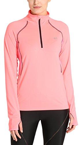 Ultrasport Damen Funktions Langarm lauf Sportshirt Midlayer Salia, Various Pink, S, 1375-181