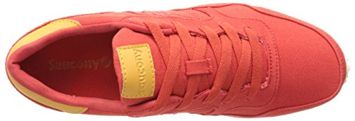 SAUCONY homme baskets bas TRAINER S70124-15 DXN Rouge