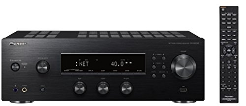 Pioneer SX-N30AE-B Multiroomfähiger Netzwerk Stereo-Receiver mit integriertem WiFi, Chromecast, tuneIN Internet Radio, Kanal, 135W schwarz