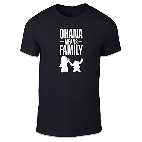 WTF PRINTED | Ohana Means Family | Casual Fit T-Shirt. Various Colours and Sizes