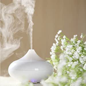 Zuwit Electric Aroma Diffuser Air Aromatherapy Essential Oil Diffuser Air Humidifier (White)