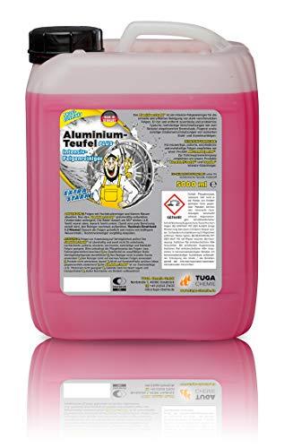 TUGA-Chemie Aluminium-Teufel, Intensiv Felgenreiniger, 5000 ml
