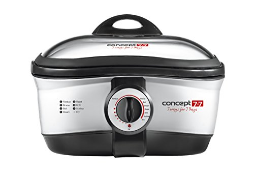 Concept CK7070 fondue, gourmet y wok - Accesorio de cocina (Acero inoxidable)