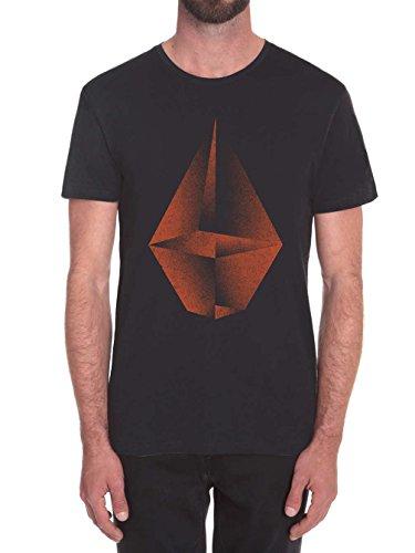 Volcom T-Shirt Shape Shifter Schwarz Schwarz