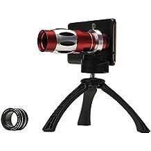 Apexel CL-89N-I6+ - Objetivo 18x con lente macro y trípode para Apple iPhone 6+