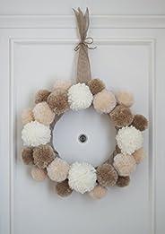 Corona de Navidad para puerta