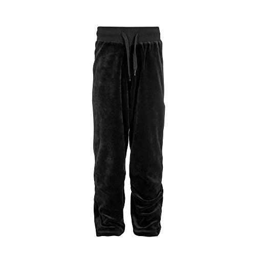 Childrens Velour Joggers Girls Tracksuit Bottoms Kids Play Wear Pants #Trackisback