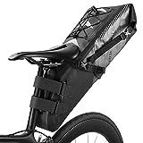 HWB Sattel Tasche,8L / 12L Fahrrad Satteltasche Mit Rollable Öffnung Outdoor Radfahren Mountainbike Rücksitz Pack Aufbewahrungstasche Werkzeuge Tasche Pack (größe : 8L)