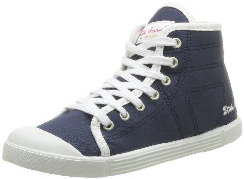 Little Marcel  Sanlas Up Uni J,  Sneaker unisex bambino, Blu (Bleu (Navy)), 34
