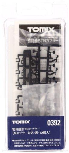 Preisvergleich Produktbild TOMIX Spur N 0392 selbst dichten sequentiellen TN-Koppler (12 M entsprechende Kupplung, schwarz) (Japan Import / Das Paket und das Handbuch werden in Japanisch)