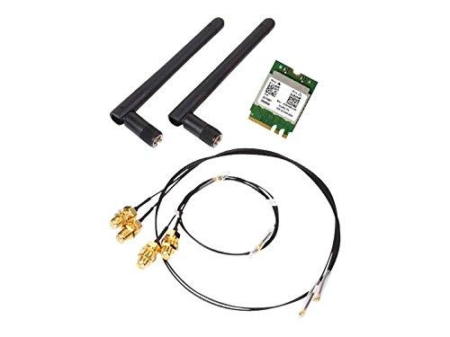 Shuttle WLN-M Adaptador y Tarjeta de Red Interno WLAN/Bluetooth 433,3 Mbit/s - Accesorio de Red (Interno, Inalámbrico, PCI-E, WLAN/Bluetooth, 433,3 Mbit/s, Verde)