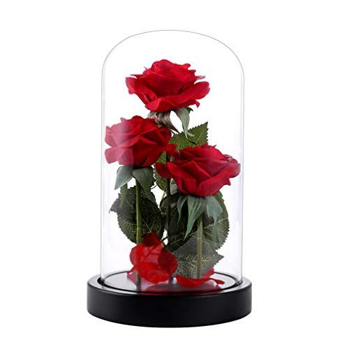"""""""Die Schöne und das Biest"""" Rosen-Set, Valentinstag Geschenk ,Hochzeitsgeschenk ,Mutter Tag Geschenk"""