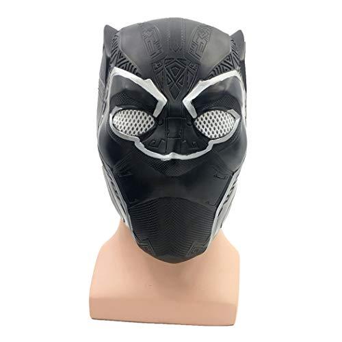 Kostüm Bürgerkrieg Damen - HBWJSH Panther Maske New Cos Marvel Helden Captain America 3 Film Bürgerkrieg Halloween