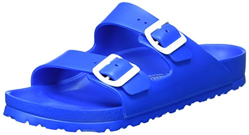 Birkenstock Arizona Eva, Ciabatte Unisex – Adulto, Blau (Scuba Blue), 41 Normal
