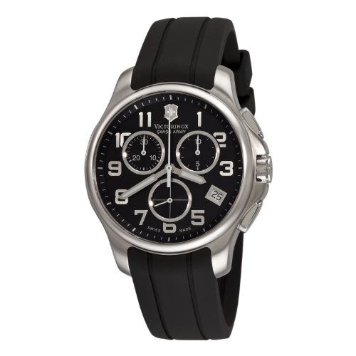 swiss-army-classic-officers-chronograph-steel-mens-watch-date-rubber-strap-241452