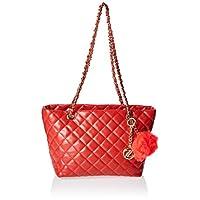 زينيف لندن حقيبة كبيرة توتس للنساء ، احمر