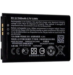 Microsoft Batterie d'origine BV-5J 1560mAh Li-Ion Lumia 435 / 435 Dual Sim / 532 / 532 Dual Sim