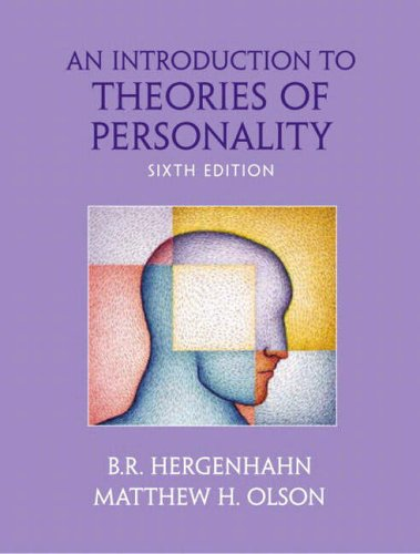 An Introduction to Theories of Personality: International Edition por B. R. Hergenhahn